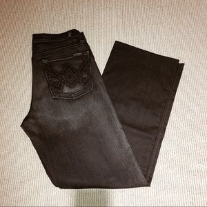 7 for all mankind A pkt relaxed jeans